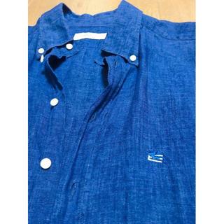 エトロ(ETRO)のETRO イタリア製長袖リネンシャツ 41(シャツ)