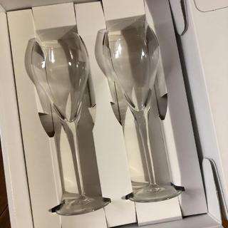 ヨンドシー(4℃)の新品❤︎4℃  ペアワイングラス(グラス/カップ)