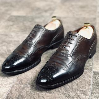 エドワードグリーン(EDWARD GREEN)の貴重‼︎ 定価21万 サンクリスピン 革靴 ウイングチップ 鏡面磨き 9F(ドレス/ビジネス)