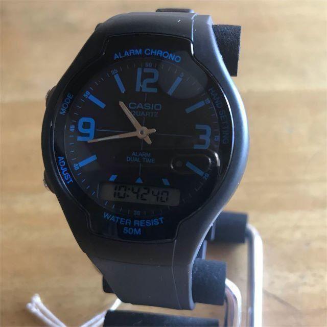 CASIO - 【新品】カシオ CASIO スタンダード アナデジ 腕時計 AW-90H-2Bの通販 by 遊☆時間's shop|カシオならラクマ