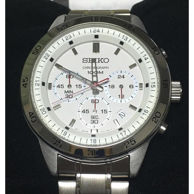 腕 時計 パネライ - SEIKO - [未使用]SEIKO クロノグラフ 4T53の通販 by にしいち's shop|セイコーならラクマ