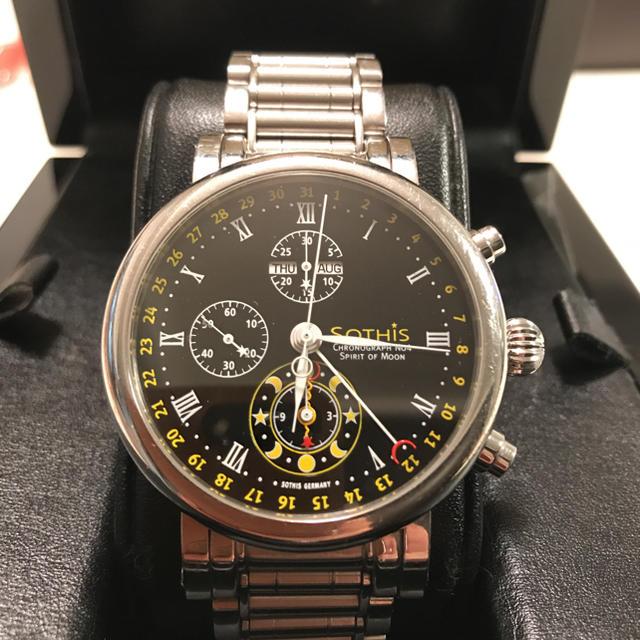 シャネル ピアス 激安 - 高級腕時計 SOTHIS スピリットオブムーンの通販 by koyan's shop|ラクマ