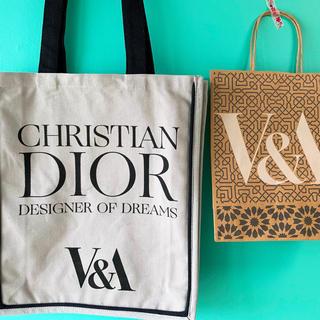 ディオール(Dior)の日本未入荷★Diorトートバッグ★V&A Dior展記念バッグ★条件値引きあり(トートバッグ)