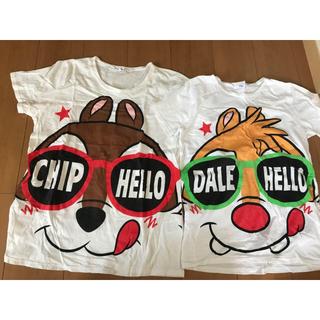 チップアンドデール(チップ&デール)のチップとデール Tシャツ(Tシャツ(半袖/袖なし))