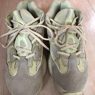 アディダス(adidas)のイージー500スーパームーンイエロー(スニーカー)