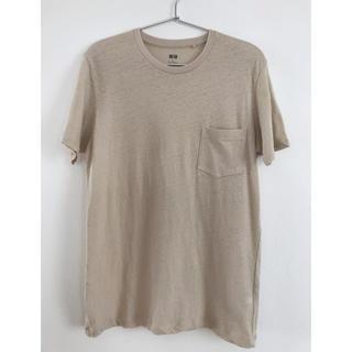ユニクロ(UNIQLO)のユニクロ MEN 麻混Tシャツ(Tシャツ/カットソー(半袖/袖なし))