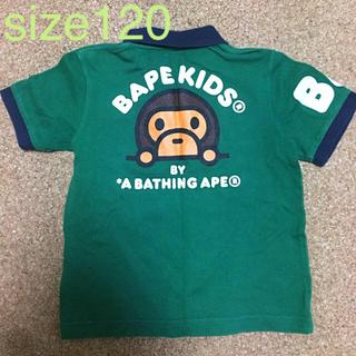アベイシングエイプ(A BATHING APE)のa bathing ape ☆kids120☆ ポロシャツ(Tシャツ/カットソー)