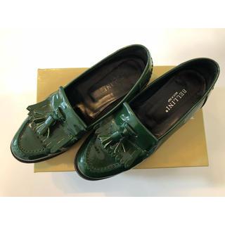 ディエゴベリーニ(DIEGO BELLINI)のDIEGO BELLINI タッセル付エナメルローファー(ローファー/革靴)
