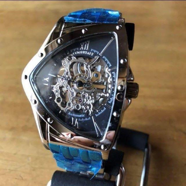 COGU - 【新品】コグ COGU フルスケルトン 自動巻き 腕時計 BS0TM-BKの通販 by 遊☆時間's shop|コグならラクマ