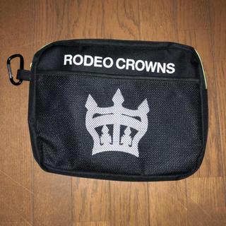 ロデオクラウンズワイドボウル(RODEO CROWNS WIDE BOWL)のロデオ クラウンズ クラッチ ポーチ 新品(ポーチ)