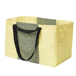 イケア(IKEA)のIKEA ショッピングバッグ YPPERLIG/イッペルリグ/黄色Lサイズ1枚(エコバッグ)