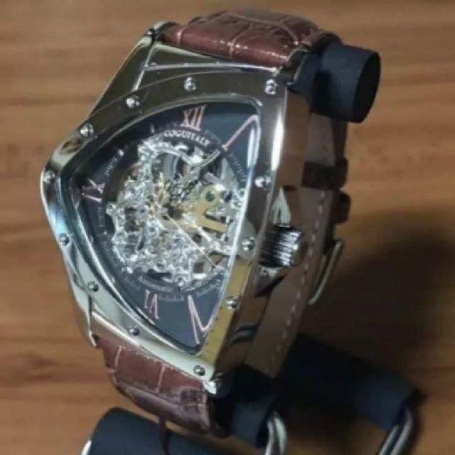 COGU - 【新品】コグ COGU フルスケルトン 自動巻き 腕時計 BS00T-BRGの通販 by 遊☆時間's shop|コグならラクマ