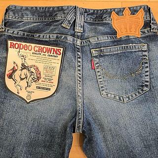 ロデオクラウンズワイドボウル(RODEO CROWNS WIDE BOWL)のロデオクラウンズ ワイドボウル  限定 ジャパン デニム サイズ 27(デニム/ジーンズ)