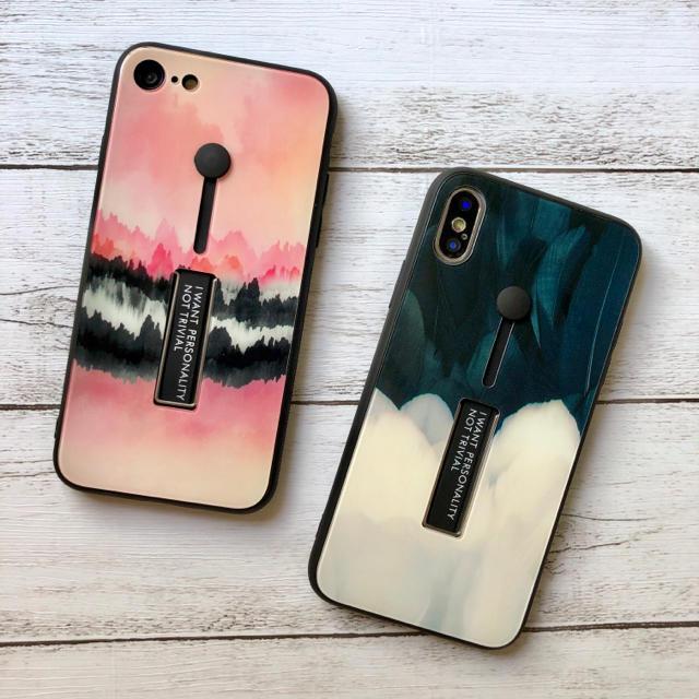 iphone7 ケース フラミンゴ - スタンド付き  iPhoneケースの通販 by みるきー's shop|ラクマ
