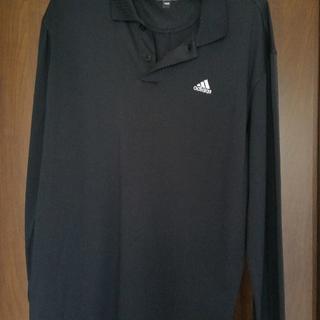 アディダス(adidas)のアディダスのポロシャツ(長袖)(ポロシャツ)