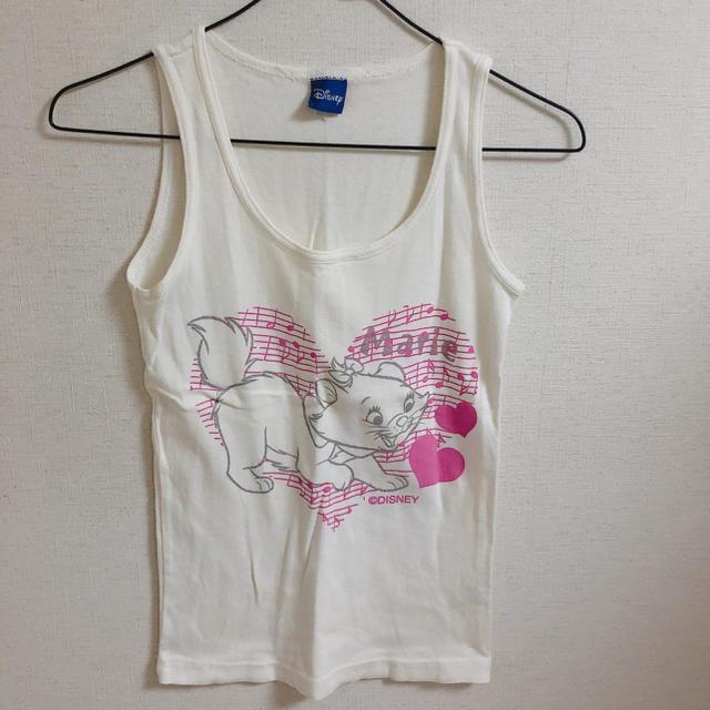 Disney(ディズニー)のタンクトップ ノースリーブ ディズニー マリー キッズ/ベビー/マタニティのベビー服(~85cm)(タンクトップ/キャミソール)の商品写真