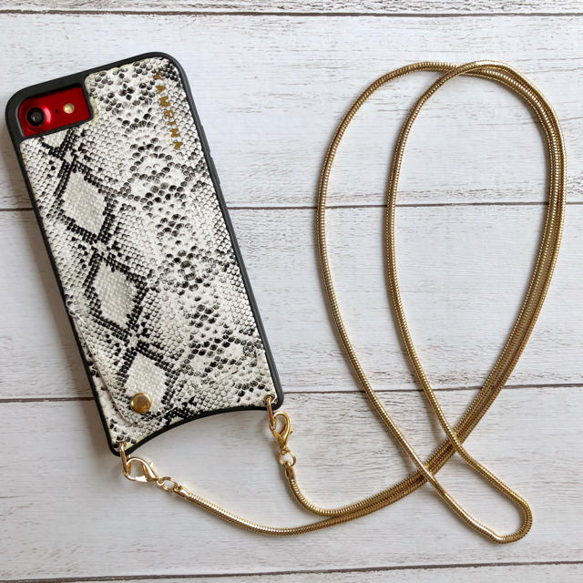 Tory Burch iPhone7 plus ケース / パイソン柄  iPhoneケースの通販 by みるきー's shop|ラクマ
