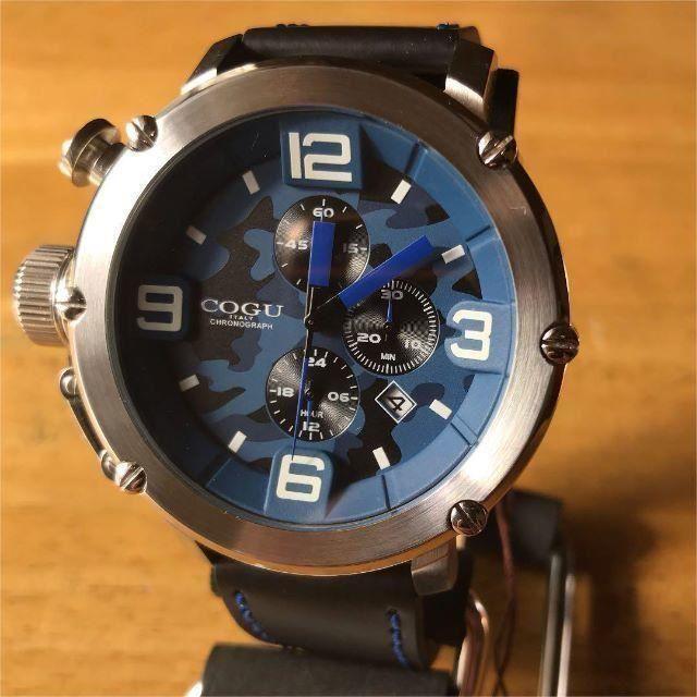 スーパー コピー IWC 時計 通販分割 | COGU - 【新品】コグ COGU クオーツ クロノ メンズ 腕時計 C61-CBL ブルーの通販 by 遊☆時間's shop|コグならラクマ