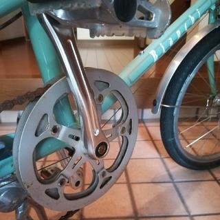 ビアンキ(Bianchi)の(確認用4)2015 ビアンキ ミニベロ7 レディー(自転車本体)