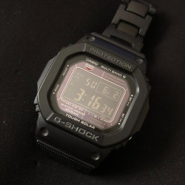 時計 偽物 オメガ hp | G-SHOCK - G-SHOCK/メタルバンド/電波ソーラー GW-M5610BC-1JF の通販 by 伊織's shop|ジーショックならラクマ