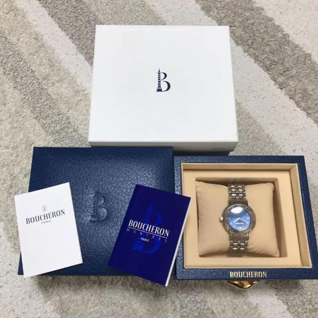 ブライトリング gmt 、 BOUCHERON - BOUCHERON 腕時計 ブシュロン 時計 オメガ CASIOの通販 by ヨウコ٭❀*|ブシュロンならラクマ