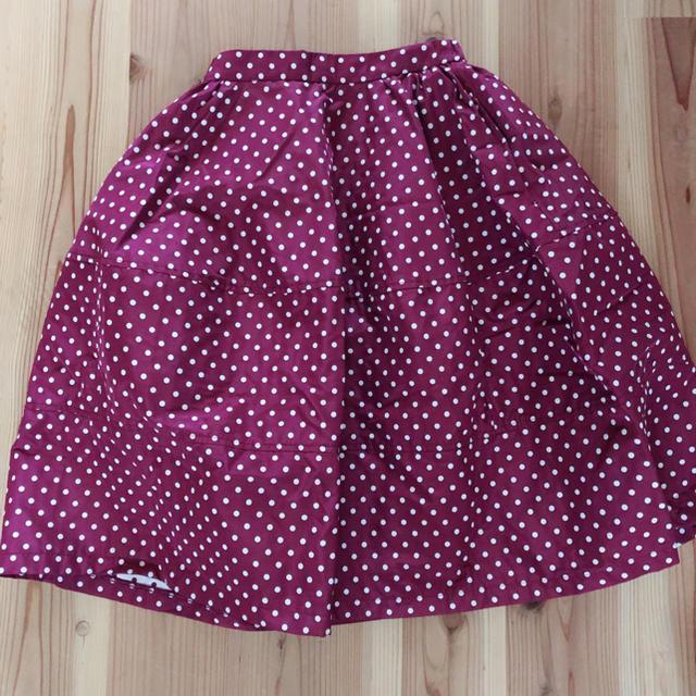 Lily Brown(リリーブラウン)のリリーブラウン ドット スカート レディースのスカート(その他)の商品写真