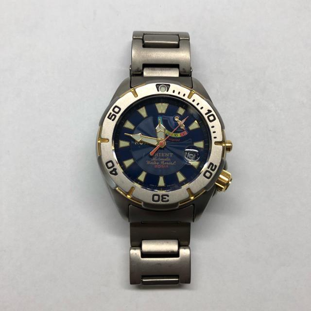 腕 時計 定番 - ORIENT - オリエント チタン ダイバーの通販 by メル's shop|オリエントならラクマ