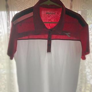 ディアドラ(DIADORA)のDIADORA スポーツシャツ(女性用・O)売切れ御免(Tシャツ(半袖/袖なし))