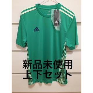 アディダス(adidas)の新品未使用 上下セットアディダス Tシャツ ハーフパンツ M サッカーフットサル(ウェア)
