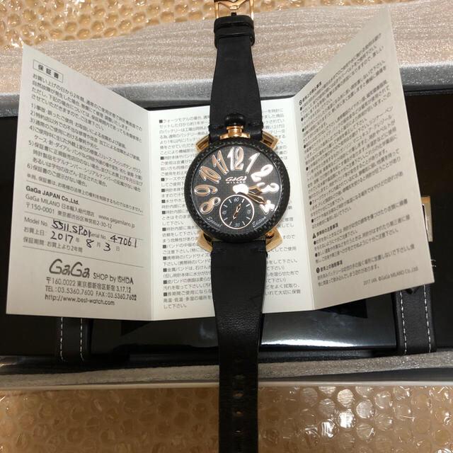 時計 偽物 販売違法 / GaGa MILANO - ガガミラノ  マヌアーレ 48mm スペシャルエディションの通販 by ゆずちゃん's shop|ガガミラノならラクマ