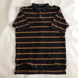 ポロラルフローレン(POLO RALPH LAUREN)のメンズ 90s ラルフローレン  ポロシャツ XL  ボーダー(ポロシャツ)