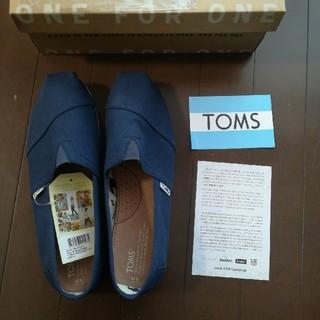 トムズ(TOMS)のshimshim様ご専用【新品】メンズ27cm TOMS(スリッポン/モカシン)