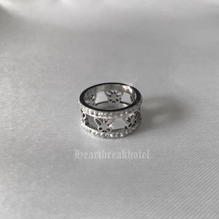 限定1点 ♡ Vintage Silver Butterfly ring(リング(指輪))