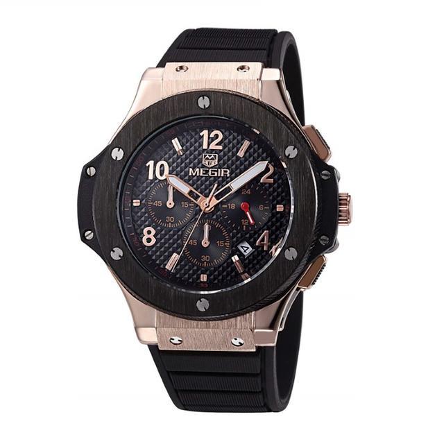 バーバリー 時計 偽物 保証書 au - クロノグラフ レーシングウォッチ Black&Goldの通販 by ノリ's shop|ラクマ