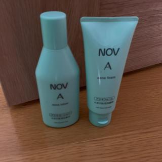 ノブ(NOV)のNOV化粧品・ノブ・ニキビ用・洗顔&ローション(洗顔料)