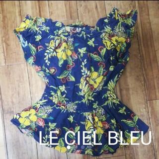 ルシェルブルー(LE CIEL BLEU)のLE CIEL BLEU トップス(カットソー(半袖/袖なし))