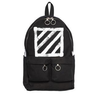 オフホワイト(OFF-WHITE)のOff White Brushed  Diagonals Backpack(バッグパック/リュック)