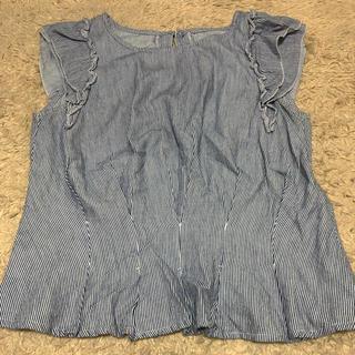 ミスティウーマン(mysty woman)のフリルカットソー 値下げ(Tシャツ(半袖/袖なし))