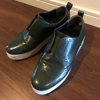 ナンバートゥエンティワン(No. 21)のナンバートゥエンティーワン 厚底(ローファー/革靴)