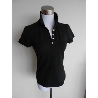 ギャップ(GAP)のGAP 黒のポロシャツ サイズXS(ポロシャツ)
