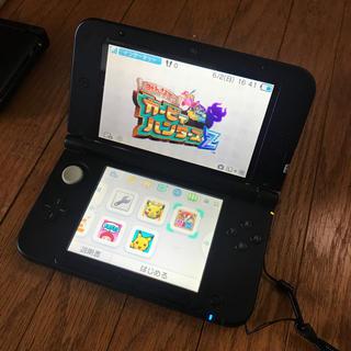 ニンテンドー3DS(ニンテンドー3DS)の3DS LL 黒とグレー(家庭用ゲーム機本体)