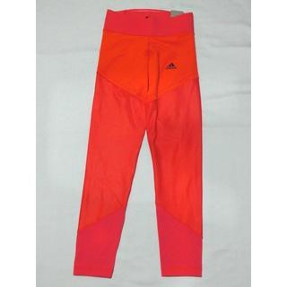 アディダス(adidas)のアディダス ロングタイツ  M オレンジ adidas B47006 9号(レギンス/スパッツ)