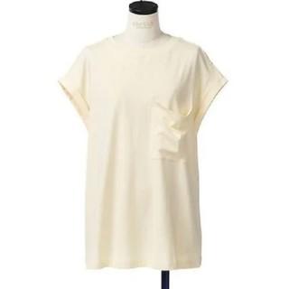 エンフォルド(ENFOLD)の☆doruka様専用☆エンフォルド スピン天竺ポケットTシャツ イエロー(Tシャツ(半袖/袖なし))