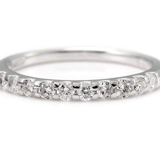 0.1ct SI ダイヤモンドリング プラチナ(リング(指輪))