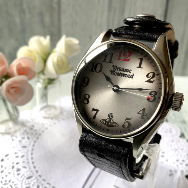 ブライトリング 腕 時計 、 Vivienne Westwood - 【電池交換済み】vivienne ヴィヴィアン 腕時計 アンティーク ヘリテージの通販 by soga's shop|ヴィヴィアンウエストウッドならラクマ