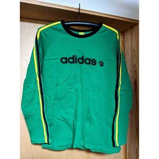 アディダス(adidas)のアディダス adidas メンズ Mサイズ 長袖 シャツ 綿、コットン(Tシャツ/カットソー(七分/長袖))