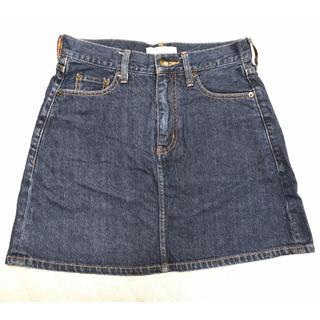 ローリーズファーム(LOWRYS FARM)の台形 デニム スカート(ミニスカート)