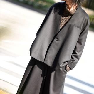 ヨウジヤマモト(Yohji Yamamoto)のKa na ta  10 years jacket(ノーカラージャケット)