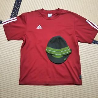 アディダス(adidas)のadidas アディダス Tシャツ & つば付きニット帽(Tシャツ/カットソー(半袖/袖なし))
