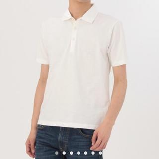 ムジルシリョウヒン(MUJI (無印良品))の新品定価1990円ムラ糸ポロシャツ(ポロシャツ)